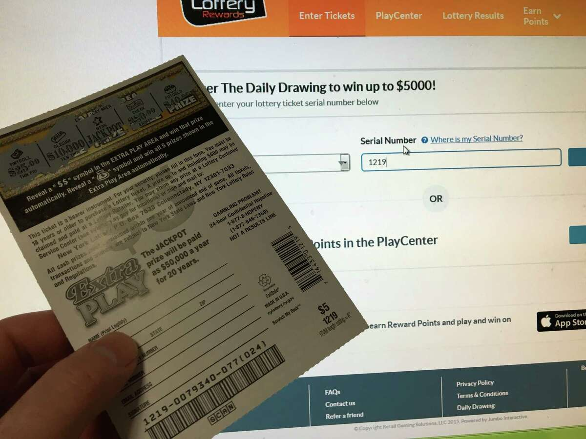 Lottery Rewards members can use the company's smart phone app to scan in losing lottery tickets to win prizes. The bar code numbers can also be entered in by hand on the company's web site. Membership is free.