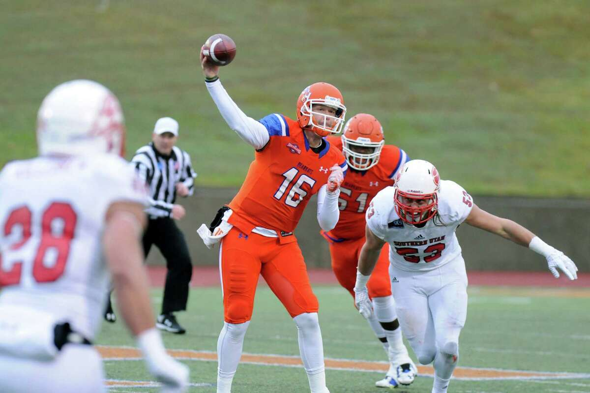 """There's another """"Houston"""" team in the postseason mix, after Sam Houston State in Huntsville edged Southern Utah 42-39 in the first round of the FCS playoffs. The Bearkats are now seeking payback at McNeese State on Saturday night, after the Cowboys defeated SHSU 27-10 on Nov. 7, and won the Southland Conference title."""