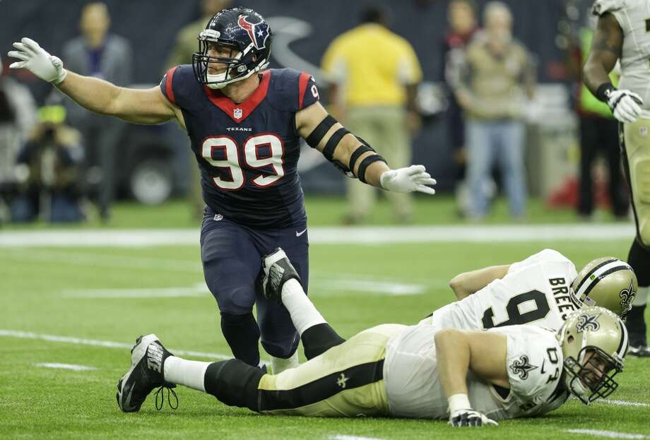 PHOTOS: The entire Texans 2019 schedule J.J. Watt and the Houston Texans open the 2019 season against Drew Brees and the New Orleans Saints on Monday Night Football. ( Brett Coomer / Houston Chronicle ) Browse through the photos above for a look at the Houston Texans' entire 2019 schedule ... Photo: Houston Chronicle