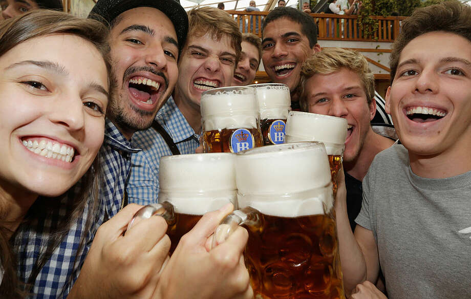 Click the see the drunkest city in each state, according to 24/7 Wall Street. / 2014 Getty Images