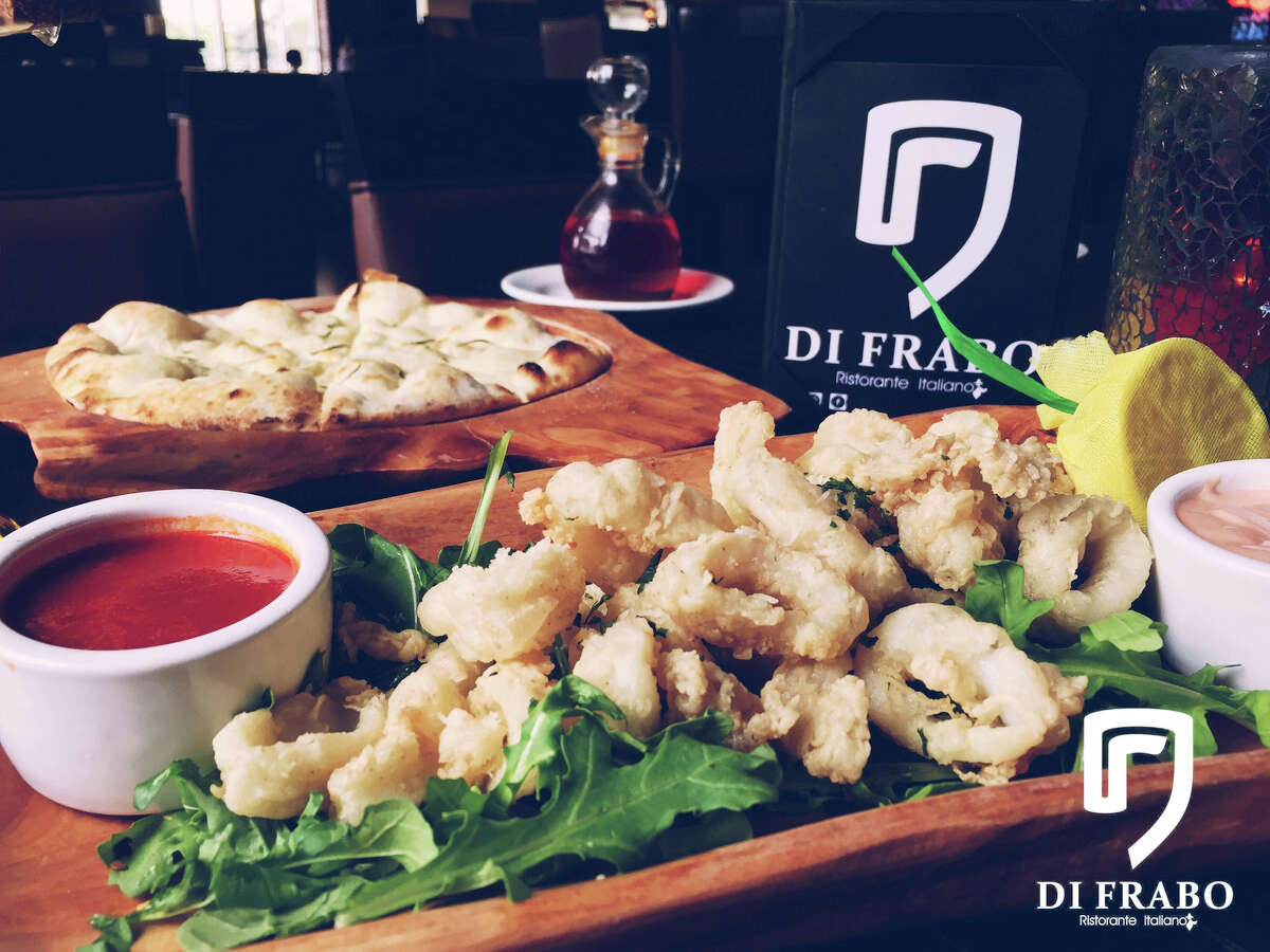 Calamari from Di Frabo Ristorante Italiano CLICK HERE to learn more about Di Frabo and their Italian artisanal creations