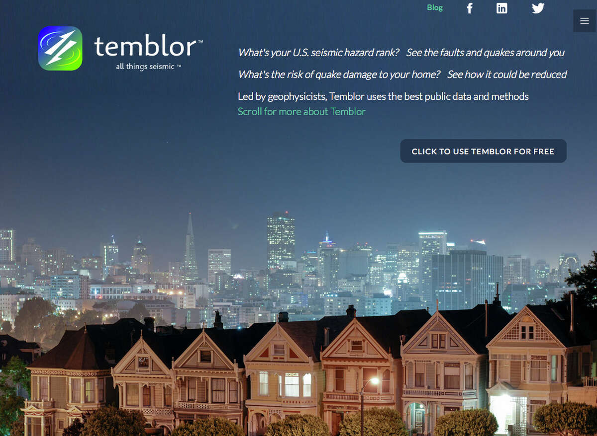 Ross Stein and Volkan Sevilgen created a web app called Temblor.net designed to help people who are unaware about the precise seismic environment where they live.