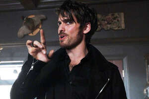 Once Upon a Time: Look What Dark Hook Shipped In! - Photo
