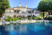 This home in Heath, just east of Dallas, is on the market for $5.75 million. The three-story home includes six bedrooms, a wine cellar and two guest quarters.