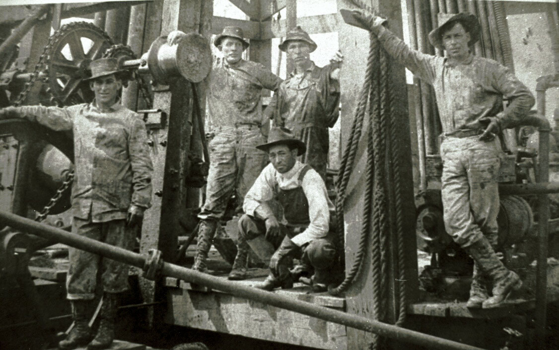 Freer Texas Map%0A Historic photos show life during the oil boom in Texas  Houston Chronicle