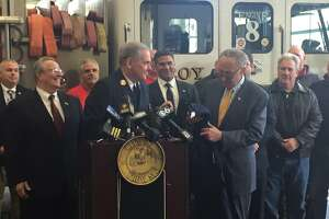 Amid Troy budget woes, Schumer to talk firefighters - Photo