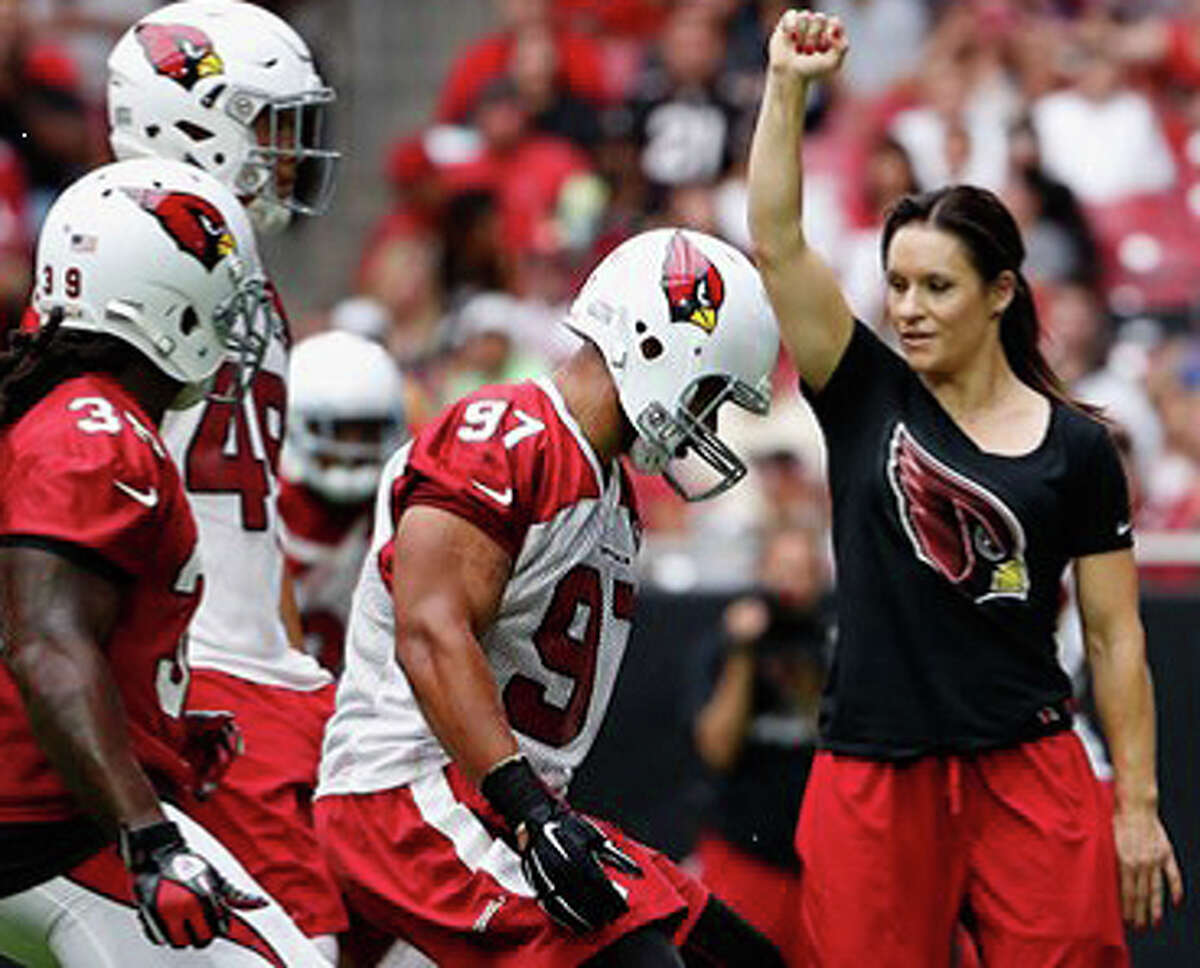 Arizona Most Googled: 2nd Amendment Jen Welter (pro football player and first female coach in NFL)