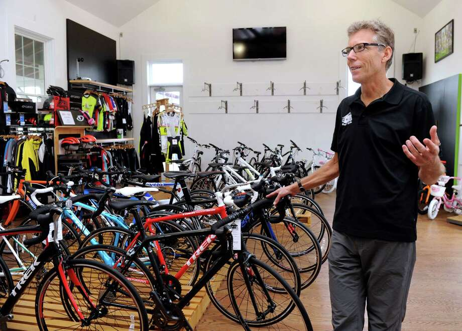 Greg Pelican, owner of  Bethel Cycle, talks about closing the business, Monday, Nov. 30, 2015. Photo: Carol Kaliff, Hearst Connecticut Media / The News-Times