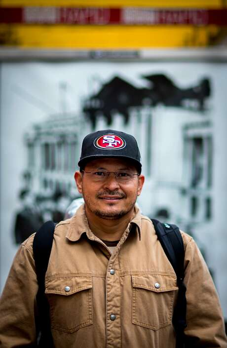 Esau Marquez poses for a photo on Monday, Nov. 30, 2015 in San Francisco, Calif. Photo: Nathaniel Y. Downes, The Chronicle