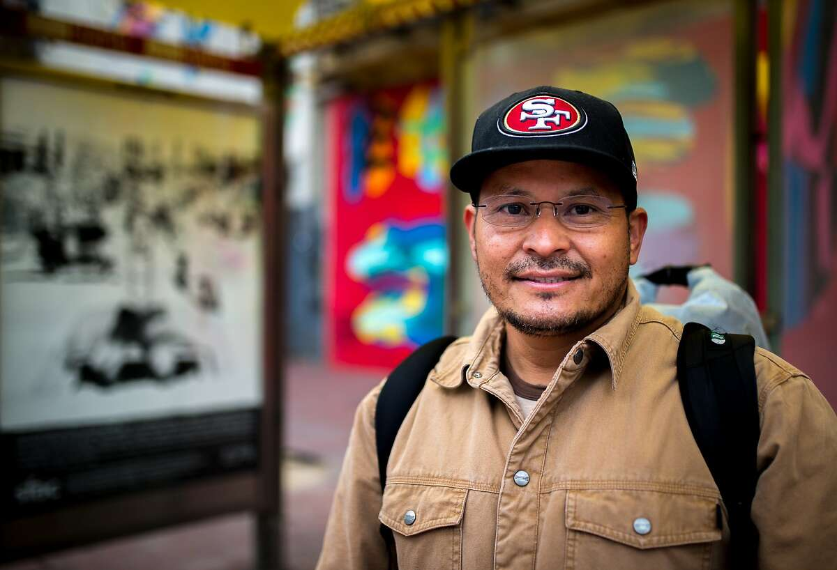 Esau Marquez poses for a photo on Monday, Nov. 30, 2015 in San Francisco.