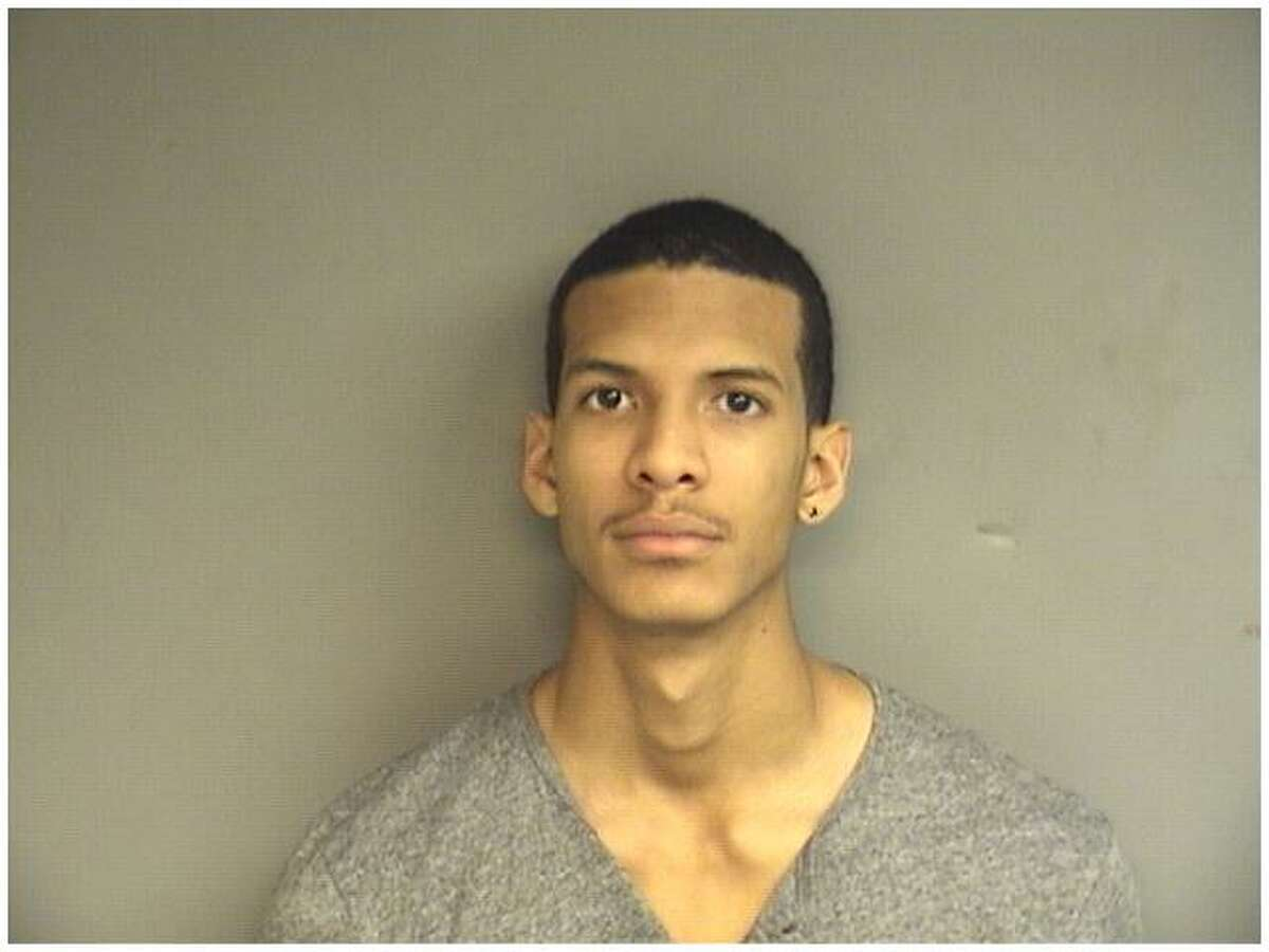 Erick Gonzalez-Saavedra, 18, of Bridgeport, was arrested after police found a BB gun and a pistol that fired blanks in a car he was driving Friday night.