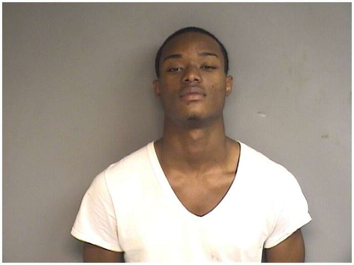 William Bonapart, 18, of Stamford, was arrested after police found a BB gun and a pistol that fired blanks in a car in which he was a passenger Friday night.