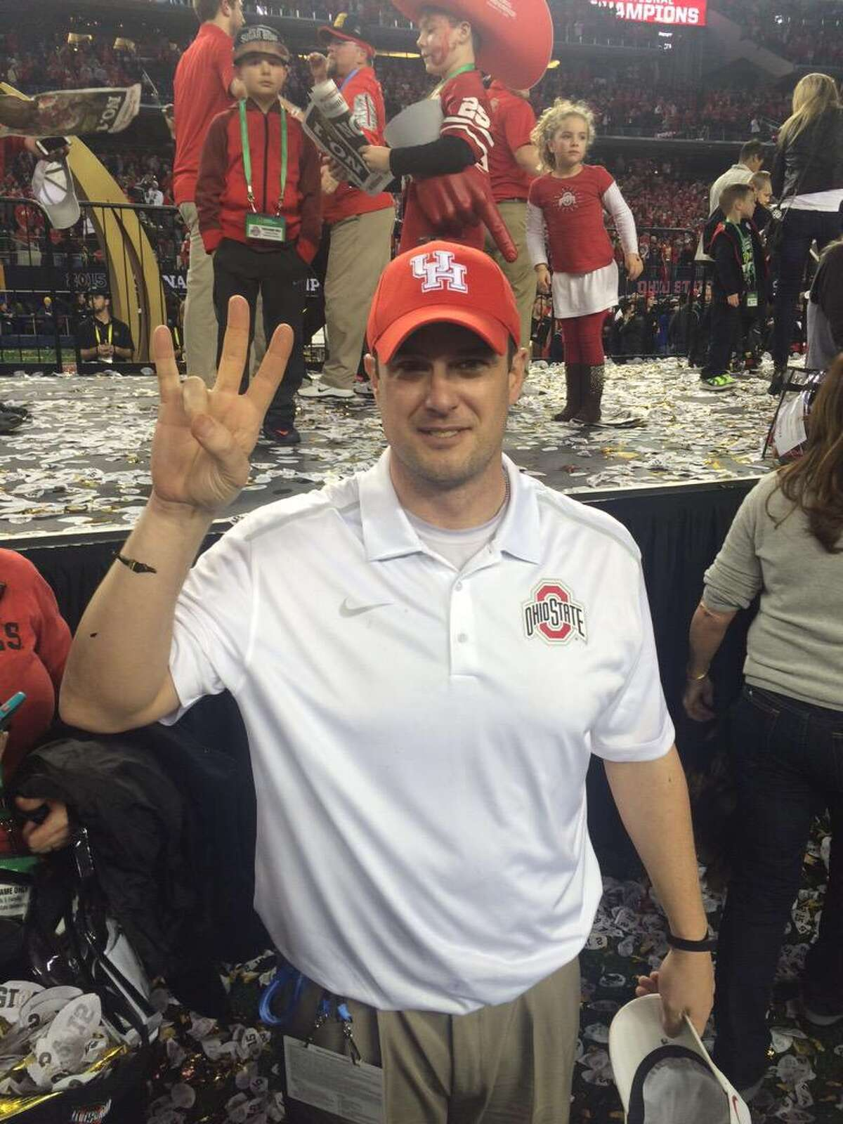 Jan. 12: Herman, the offensive coordinator/quarterbacks coach at Ohio State, wins College Football Playoff championship with 42-20 win over Oregon