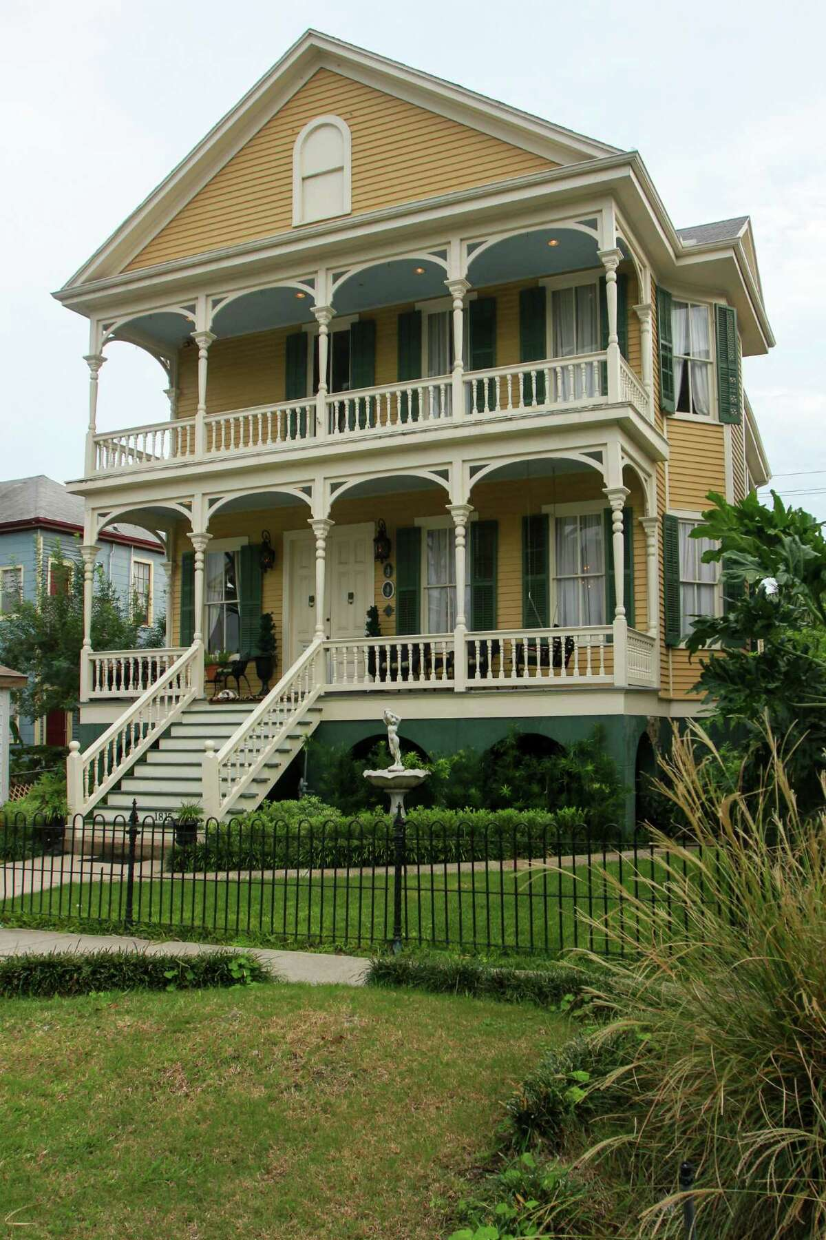 This 1898 Galveston home was built by Joseph Goldstein, who came to Galveston from New Orleans.