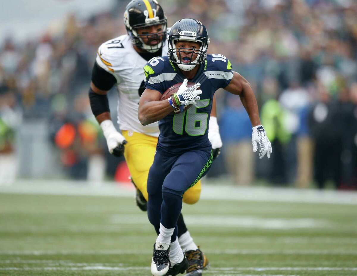 When the Seahawks traded up to select Tyler Lockett in the third round of the 2015 NFL draft, the expectation was that he'd make an immediate impact in the return game. He's done that as both a punt returner and a kick returner. But he's also emerged as one of the Seahawks' best receivers through 12 games while catching 35 passes for 436 yards and three touchdowns.