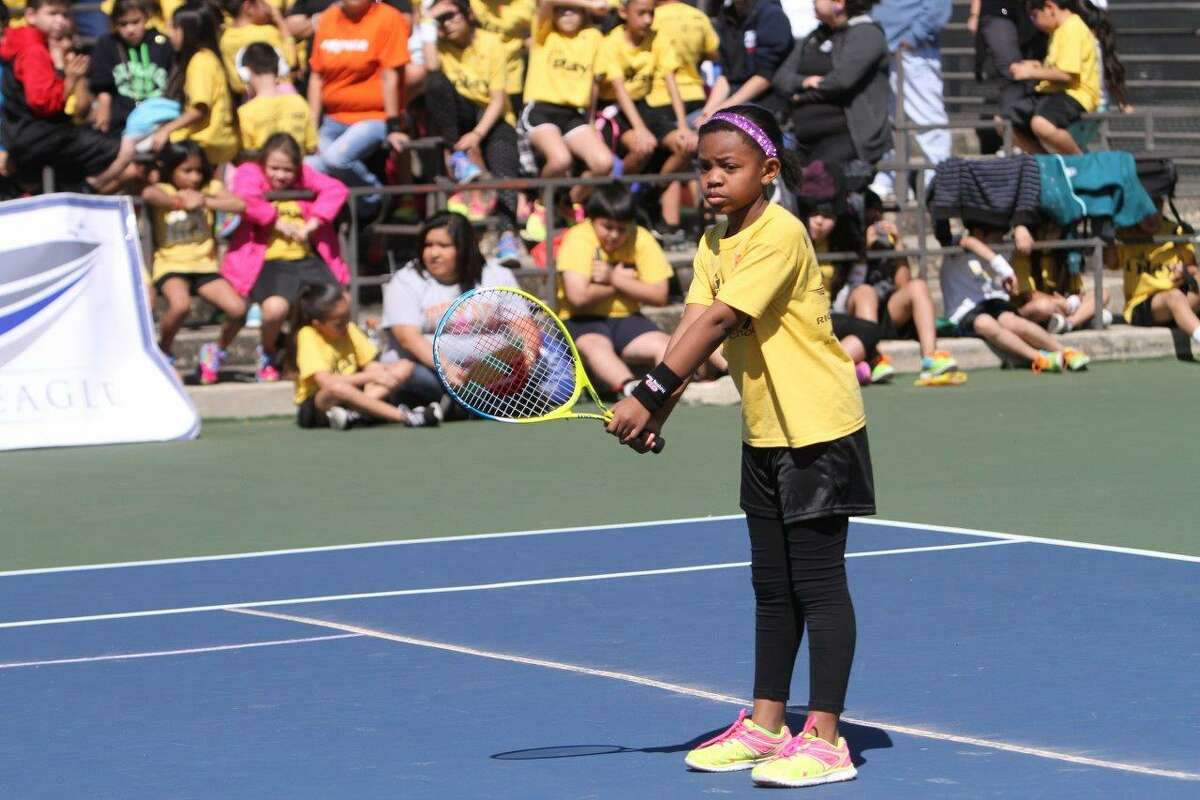 San Antonio Sports i play! afterschool program provides 1,100 students at 45 elementary schools skill-based instruction in soccer, track, volleyball, tennis and golf.