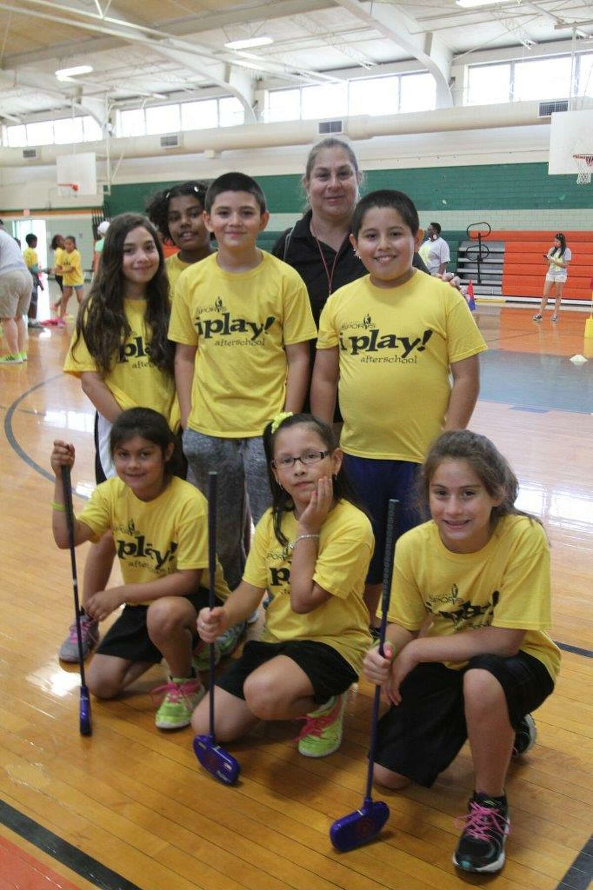 San Antonio Sports i play! afterschool program teaches 1,100 children in two inner-city school districts skill-based instruction in five sports, along with nutrition and character education.