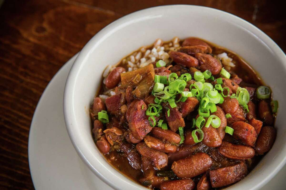 A bowl of red breans and rice is shown at Southern Goods on Tuesday, Nov. 24, 2015, in Houston. ( Brett Coomer / Houston Chronicle )
