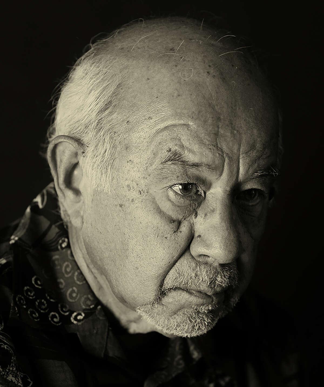 "Jose Esquivel is one of the artists in Ramin Samandari's ""San Antonio Faces of Art"" portrait series."