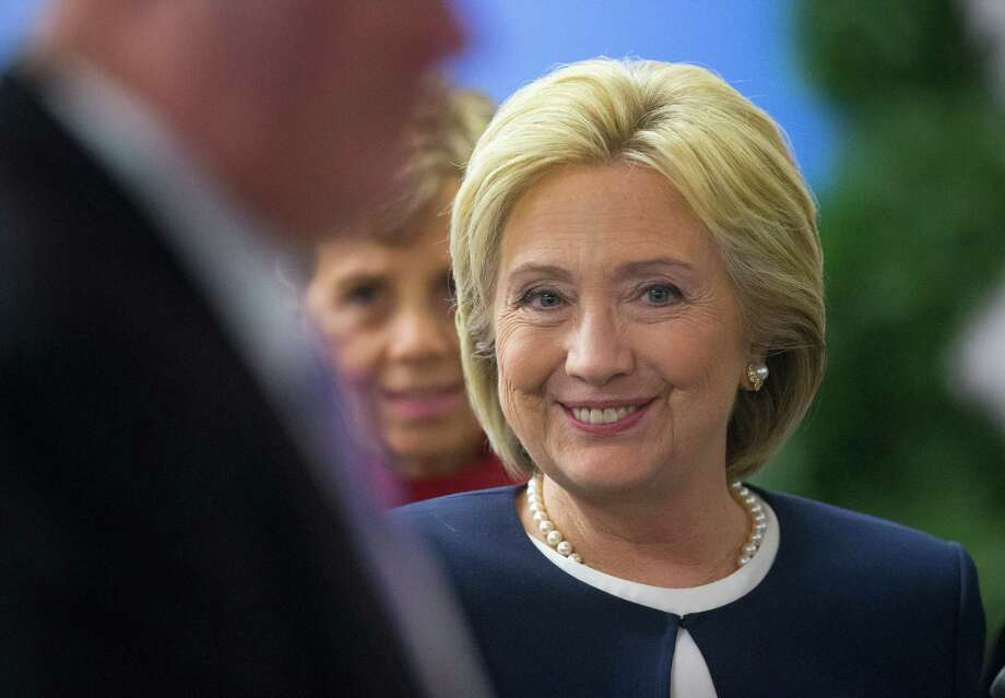 Hillary Clinton campaign's emboldened new posture toward Trump grew from months of watching how his Republican rivals struggled to challenge him. Photo: Pablo Martinez Monsivais, STF / AP