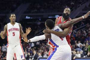 Pistons push off Rockets' late comeback bid - Photo