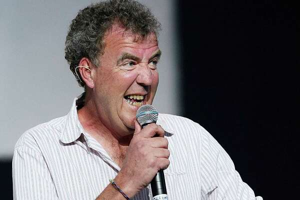 FILE  Jeremy Clarksons Top Gear Contract With The BBC Will Not Be Renewed AUCKLAND, NEW ZEALAND - FEBRUARY 12:  Top Gear presenter Jeremy Clarkson talks during a media call for 'Top Gear Live' at the ASB Showgrounds on February 12, 2009 in Auckland, New Zealand.  (Photo by Hannah Peters/Getty Images)