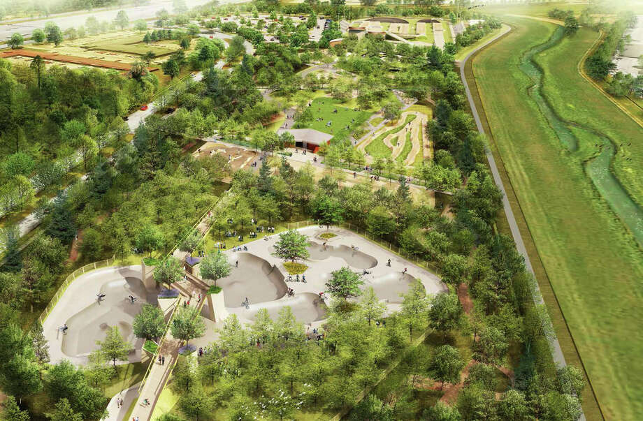 Landscape Architecture North Houston Will Be Home To A 20 Acre Bike Park,  Equipped