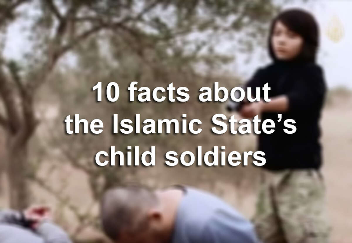 Scroll through the slideshow for 10 fast facts about how the Islamic State uses children to wage violence in the Middle East.