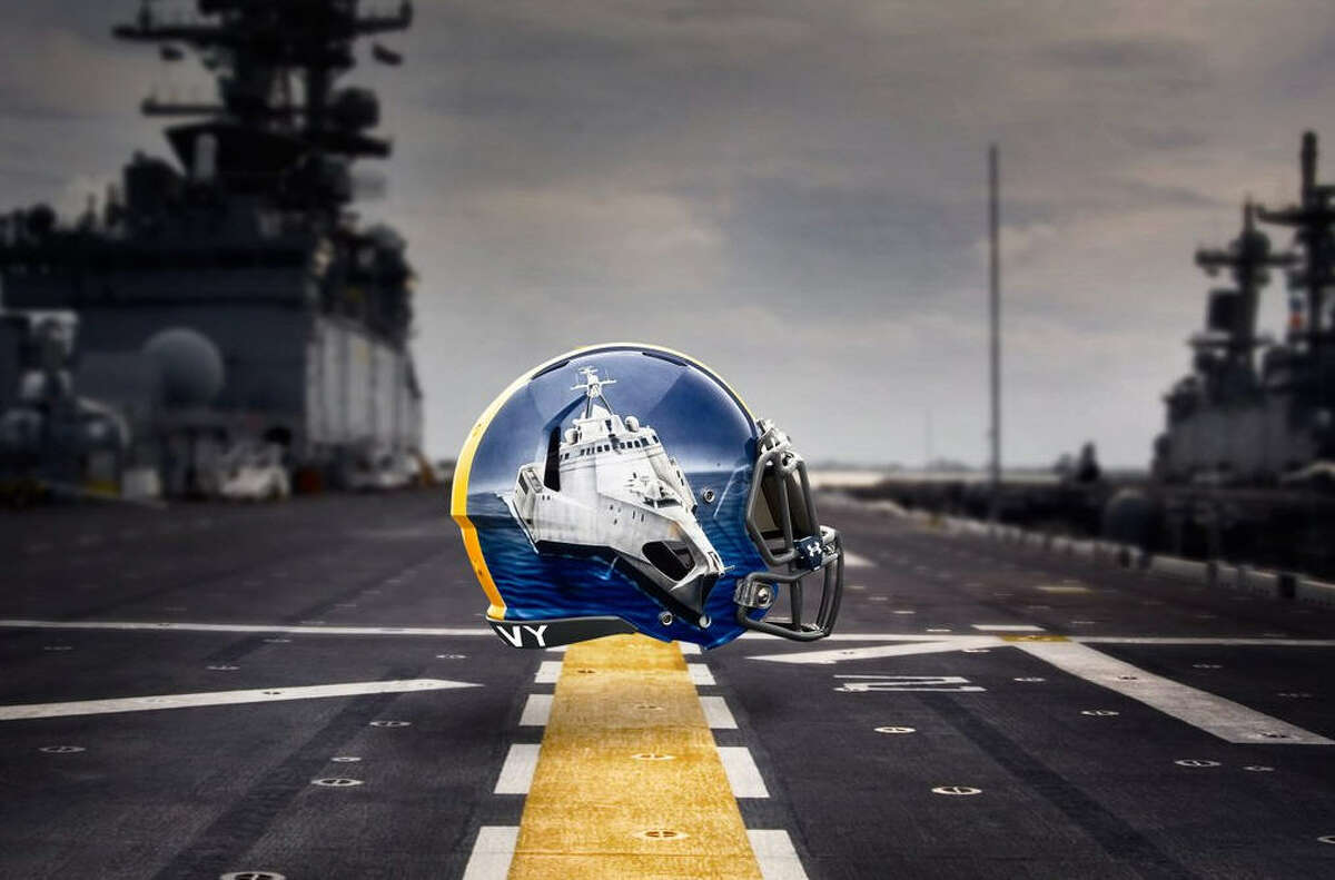 Navy running backs Littoral Combat Ship: Like running backs, these fast and nimble ships can navigate through both crowded shallow and deep waters.