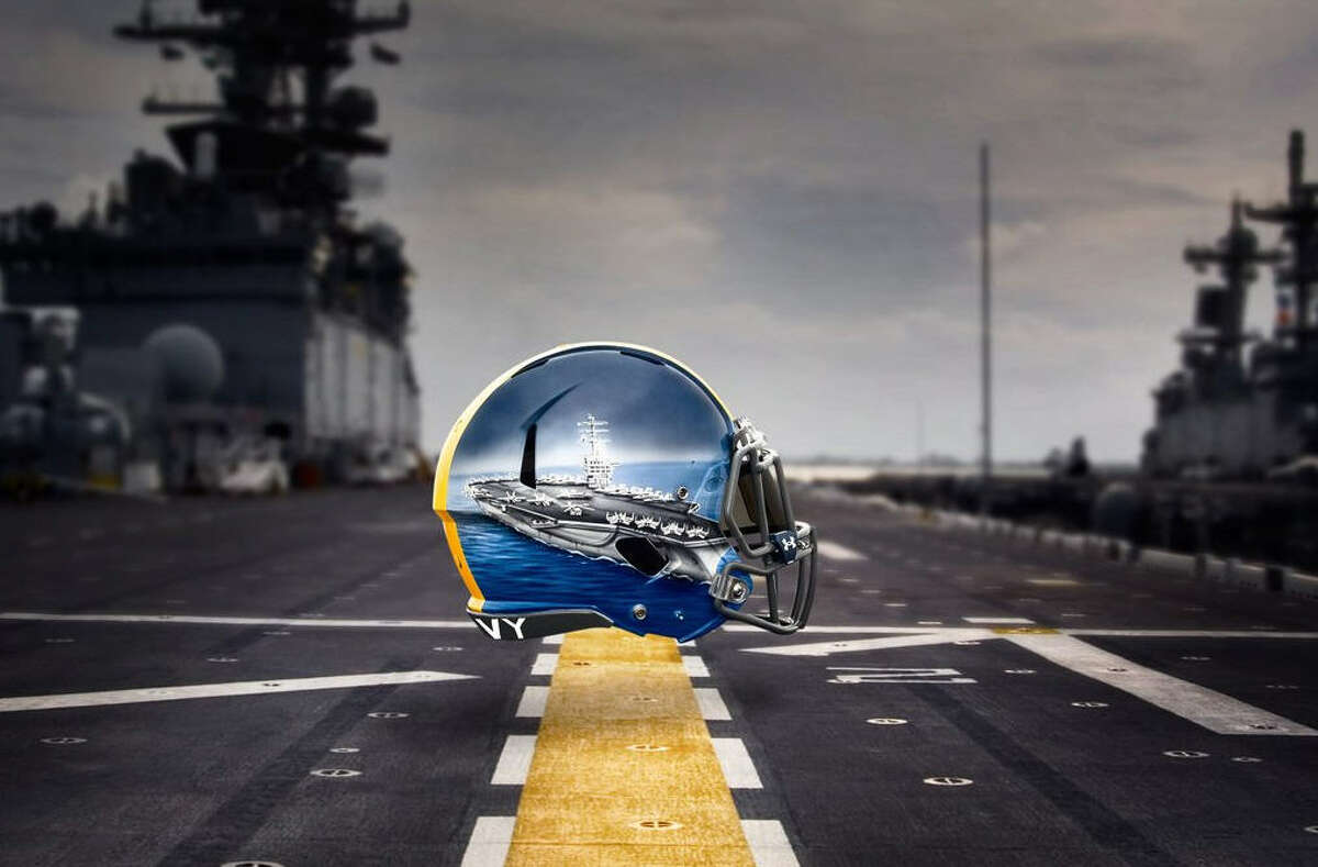 Navy quarterbacks Aircraft Carrier: The QB of the Naval fleet, the aircraft carrier is the ultimate decision-maker. The quick-strike weapon of the Naval fleet.