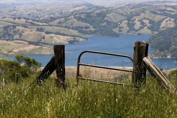 Briones Resevoir can be seen near the top of Vollmer Peak in Central Contra Costa, Calif., on Friday, May 27, 2011.