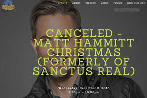 Christmas-themed concert Wednesday in Danbury canceled - Photo