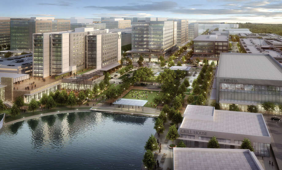 CityPlace is a 60-acre mixed-use development that will be the hub for Springwoods Village.