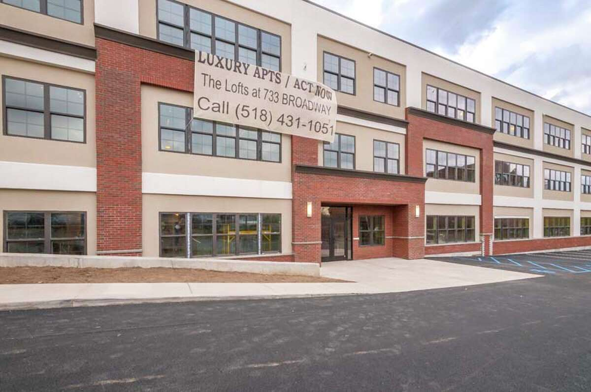 Click through the slideshow to take a look inside The Lofts at 733 Broadway in Albany.