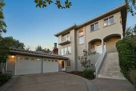 1028 Aquarius Way in Oakland's Broadway Terrace neighborhood sits up the road from Lake Temescal Regional Park.
