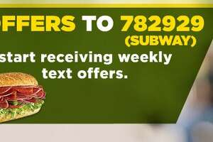 Subway: Buy a 32 ounce drink, get a free six inch sub - Photo