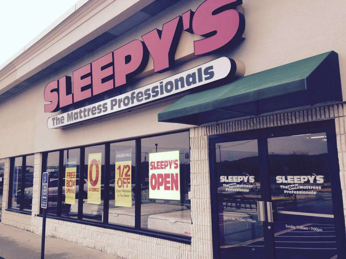 The Sleepy's location on Backus Avenue in Danbury. The chain, with 20 stores in Fairfield County, was recently acquired by its Houston based rival.