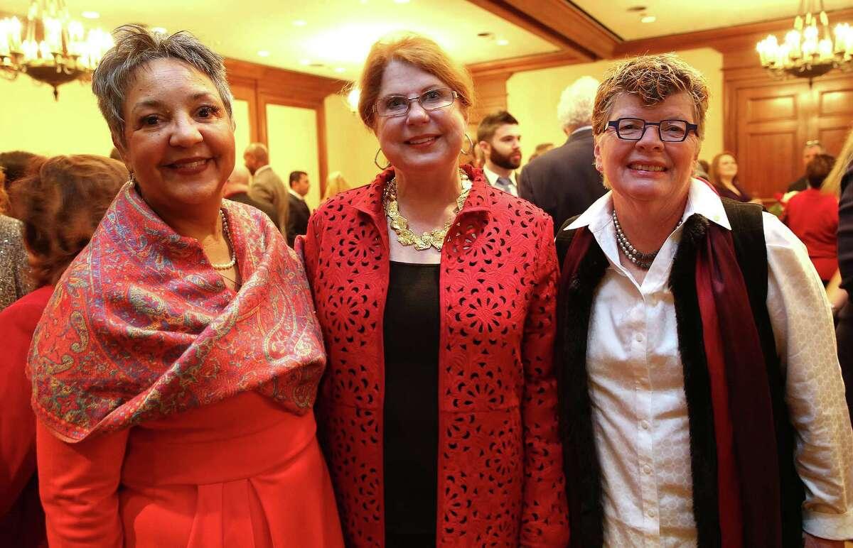 Carla Dickerson, Joni Baird and Susie Habert