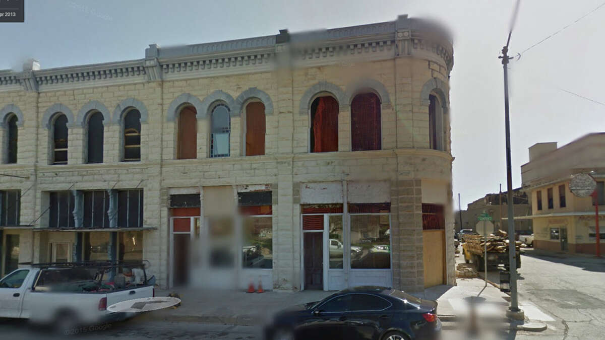 This Google Maps view of downtown Brownwood in 2013 shows the outside of a building which housed the WWII-era brothel.