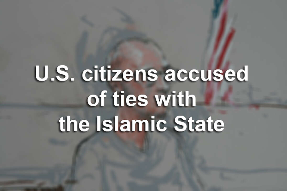 Scroll through the slideshow to see the faces of U.S. citizens accused of having ties to the Islamic State extremist group since 2014.