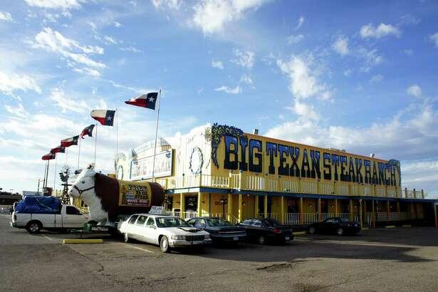 Big Texan Steak Ranch Route 66  Amarillo Texas