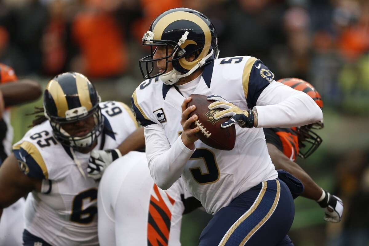 30. St. Louis (4-7) Last week: (28) Since they started 4-3, the Rams have a four-game losing streak. They're 3-2 at home, where they play Arizona on Sunday.