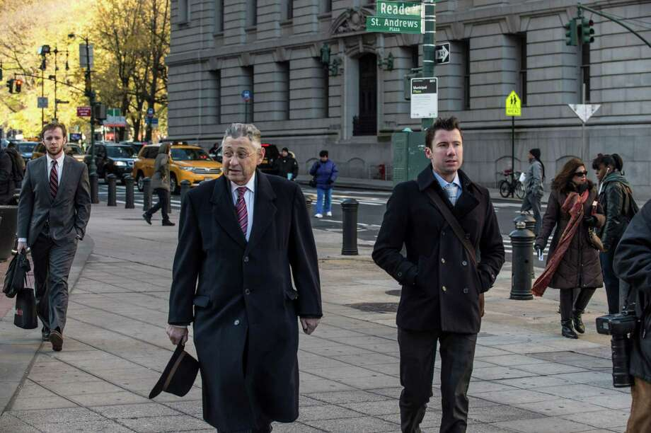 New York State Assemblyman Sheldon Silver, a Democrat who was the longtime speaker, arrives at federal court in New York, Nov. 30, 2015. Silver was found guilty on Monday of federal corruption charges, ending a trial that was the capstone of the government's efforts to expose the seamy culture of influence-peddling in Albany. (Robert Stolarik/The New York Times) ORG XMIT: XNYT99 Photo: ROBERT STOLARIK / NYTNS