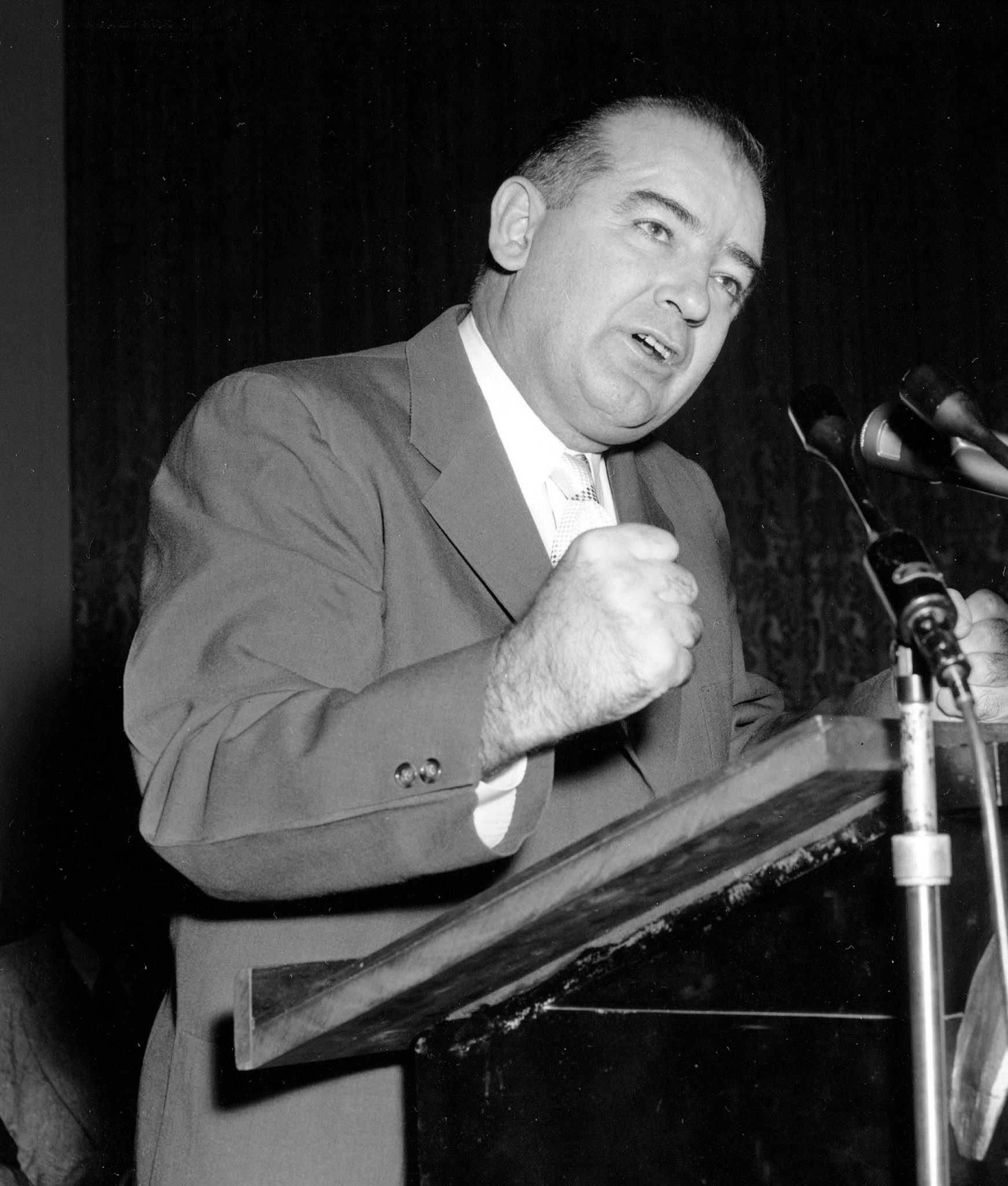 senator joseph mccarthy and communism At the time of mccarthy's speech, communism was a growing concern in  senator joseph r mccarthy and the catholic  censure of senator joseph mccarthy.