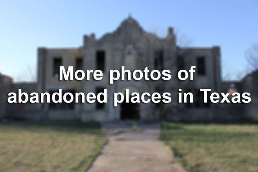 Abandoned asylums. Graffiti-embellished schools. Ghost towns. Here are just a few haunting scenes that have been captured by photographers - both amateur and professional - across Texas.