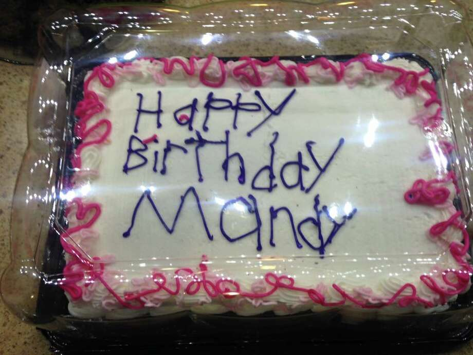 Would You Have Accepted This Birthday Cake From The Bakery Sfgate