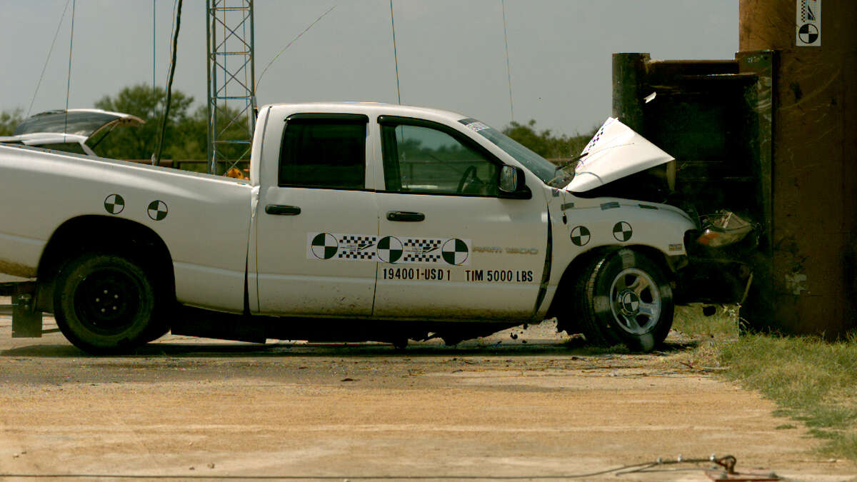 Between 2008 and 2014, Texas A&M Transportation Institute worked to establish a standard for crash-testing store-front barriers and to develop a reusable test vehicle, called a bogey. The institute is now ready to begin crash tests for manufacturers, Dec. 2, 2015.