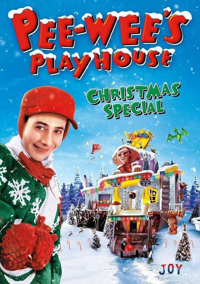 "Blu-Ray cover: ""Pee-Wee's Playhouse Christmas Special"" Photo: Shout! Factory"