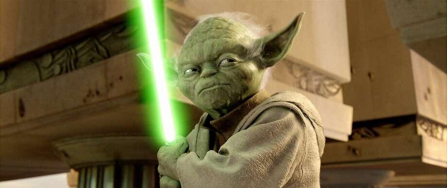 "Jedi Master Yoda in ""Star Wars: Episode III — Revenge of the Sith."" Photo: Lucasfilm/Twentieth Century Fox, AP"