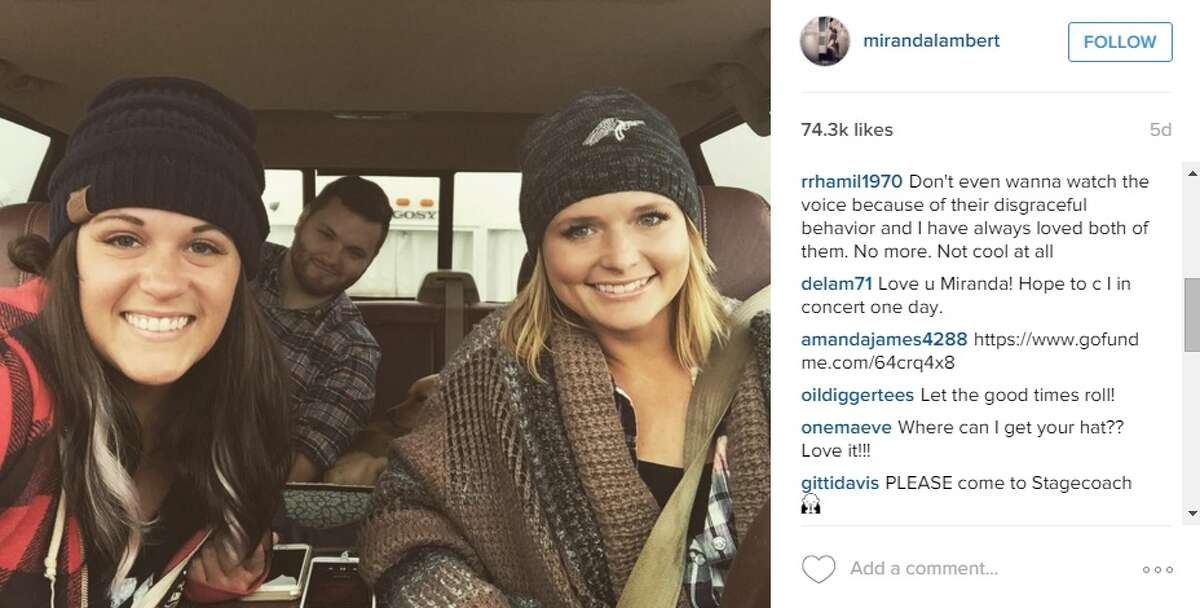 Miranda Lambert enjoyed the comforts of Texas this weekend in New Braunfels with